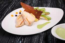 Куриное филе в соусе Флорентин (300гр)