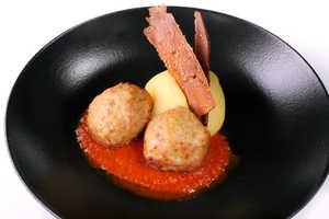 Куриные фрикадельки с картофельным пюре (330гр)