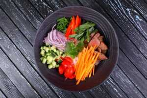 Роke bowl мясной (330гр)