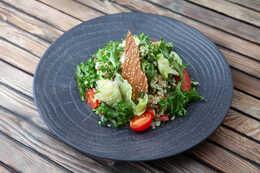 Салат с булгуром и овощами (160гр)