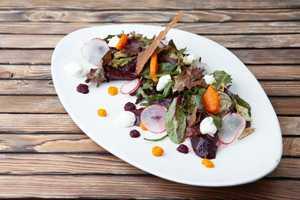 Салат с глазированной свеклой (300гр)