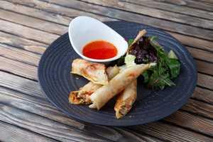 Спринг роллы с овощной начинкой (180гр)