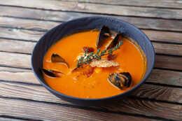 Суп с морепродуктами (350гр)