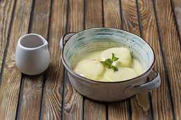 Сырники с ванильной заливкой (180гр)